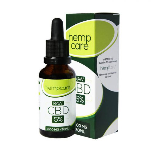 herbal spirit - hempcare cbd raw 5% 30ml