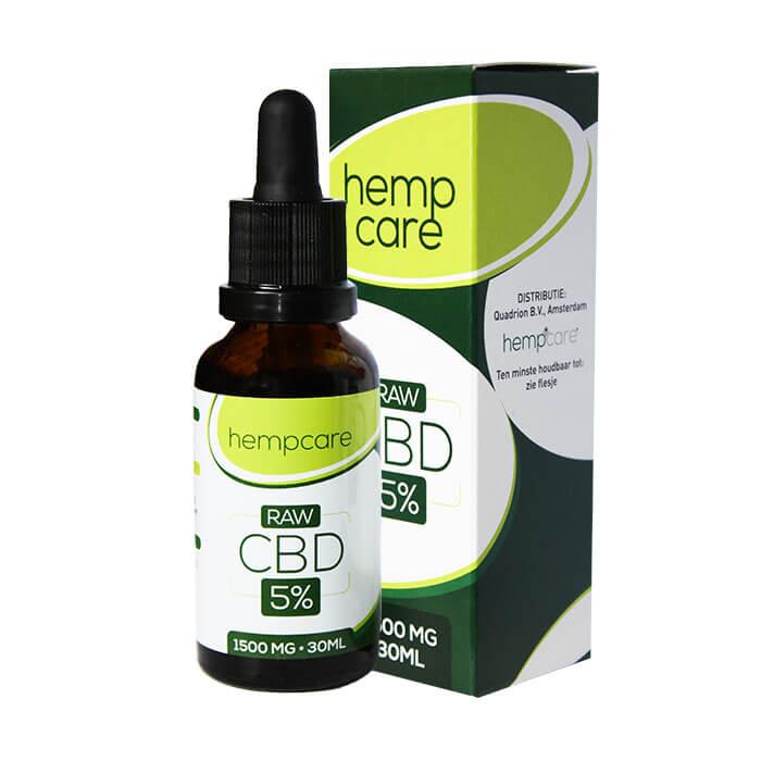 herbal spirit - hempcare cbd raw 5% 30ml