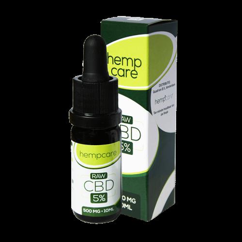 herbal spirit - hempcare cbd raw 5% 10ml