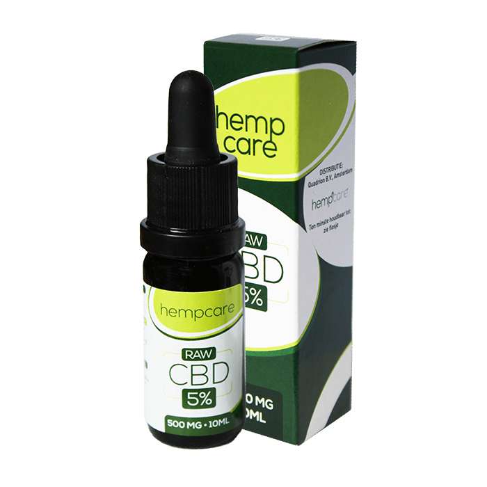 herbal spirit - hempcare cbd raw 5% 10ml