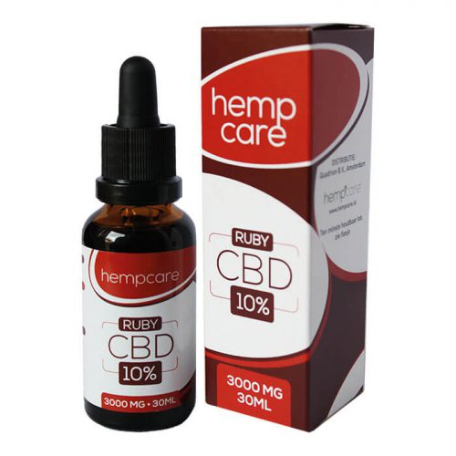 HempCare CBD olie Ruby - Herbal Spirit 30ml