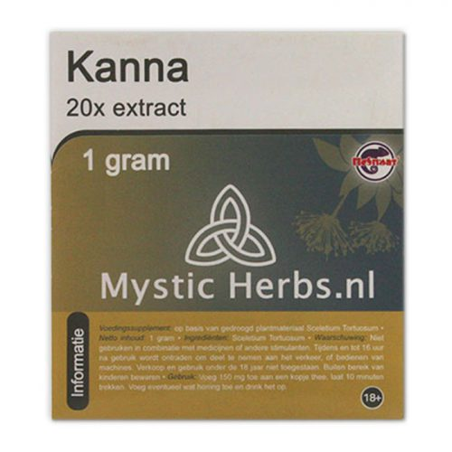 Kanna Extract - Herbal Spirit