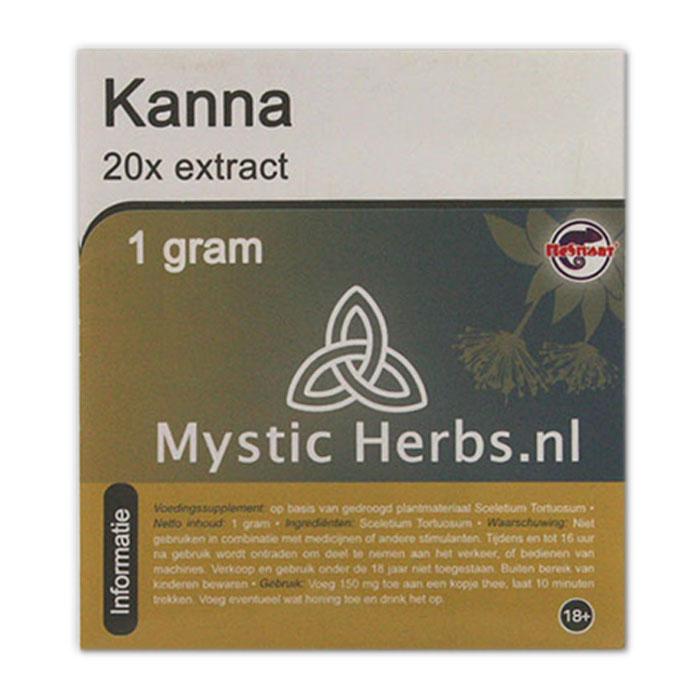 Kanna Extract - Herbal Spirit
