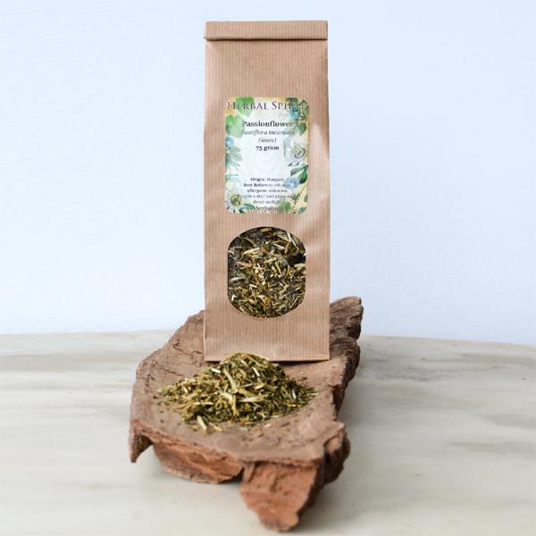 passiebloem thee passiflora incarnata - herbal spirit