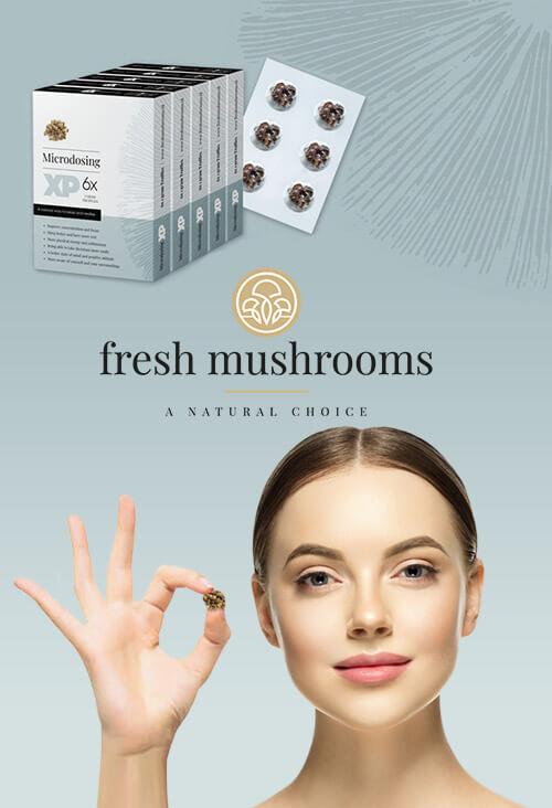 microdeseren - magic truffels