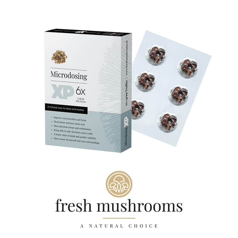 Microdoseren - Magic Truffels - Herbal Spirit